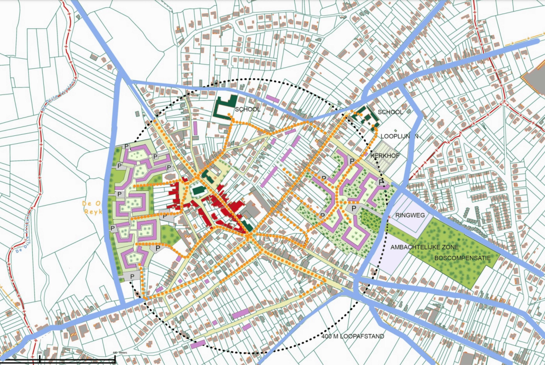 Inbreidingsplan voor Rotselaar
